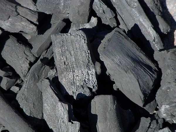 Теплота сгорания древесного угля чуть больше, чем теплота сгорания качественного каменного угля