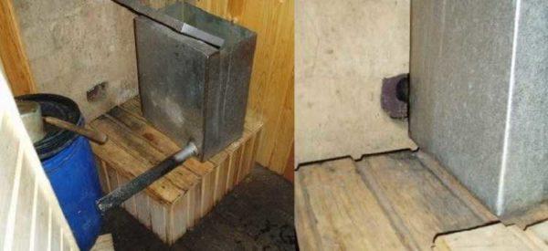Теплообменник для банной печи сделанный своими руками