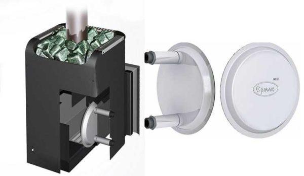 Теплообменник для банной печи фирмы {amp}quot;Ермак{amp}quot; - уникальная конструкция