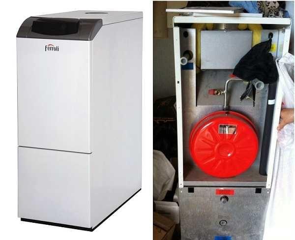 Напольные газовые котлы со встроенным бойлером для горячей воды PEGASUS D K 130