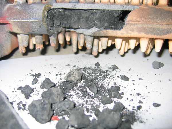 Чугунный теплообменник забит практически полностью через полгода использования антифриза и постоянных перегревов