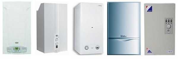 На этом фото  представлены некоторые электрокотлы для отопления частного дома