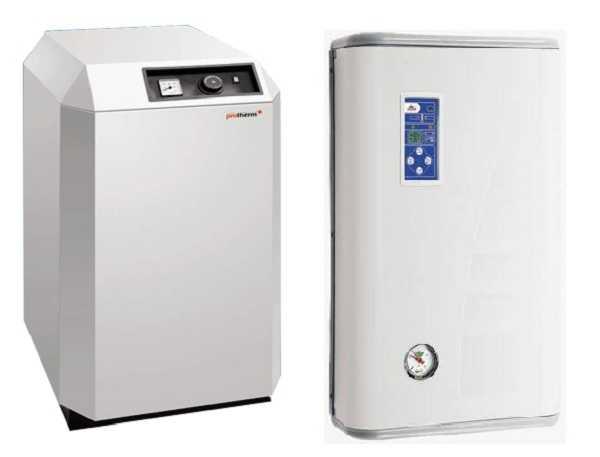 Электрические котлы для отопления частного дома могут быть напольными или настенными