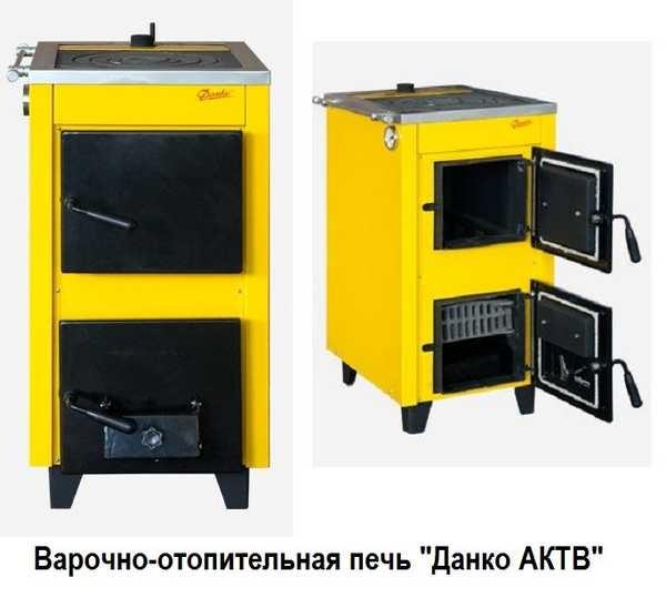 Эта печь может работать только как варочная (летний режим) или еще и отапливать помещение (зимний режим)