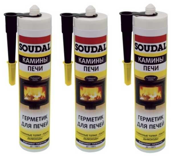 Высокотемпературный герметик Soudal Calofer