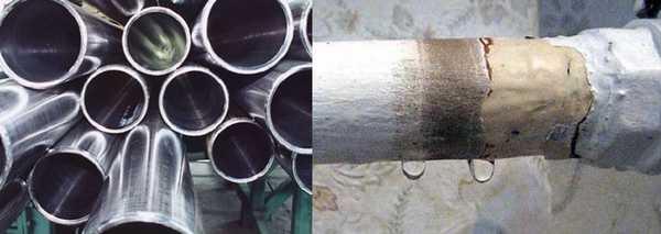 Стальные трубы для отопления - самый бюджетный вариант