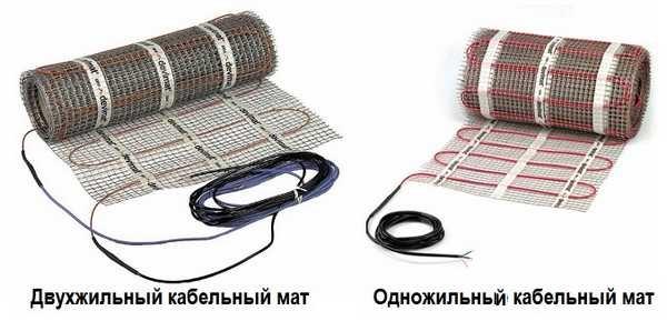 Нагревательные маты из кабеля - отличные характеристики при невысокой цене