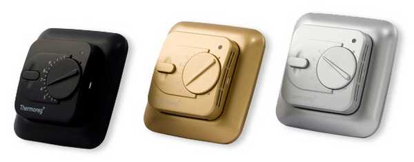 Терморегулятор для теплого пола экономит деньги во время эксплуатации