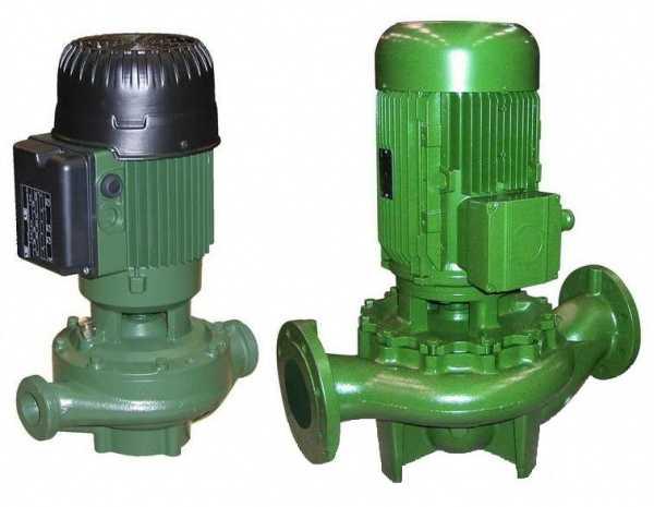 Насосы с сухим ротором имеют повышенные мощности и соответствующие габариты