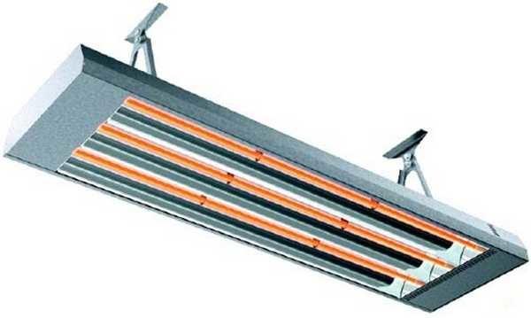 Инфракрасные обогреватели напоминают обычные люминесцентные, но излучают не свет, а тепло