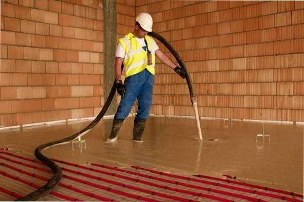 При использовании бетононасоса все быстро и просто