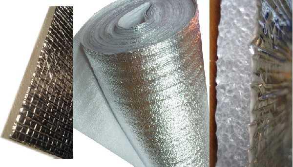 Фольгированные использовать материалы или металлизированные — выбирать вам
