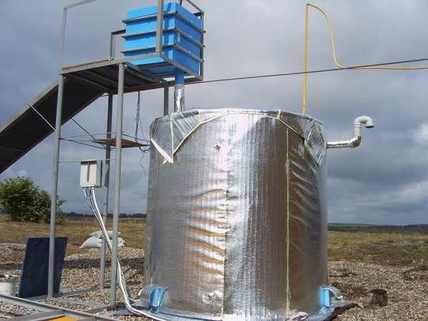Самодельные установки по переработке навоза в биогаз - не вершина совершенства, но достаточно эффективны