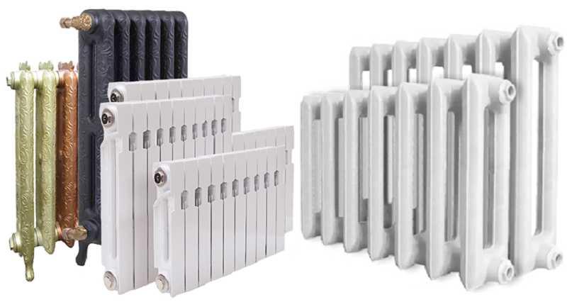 Чугунные радиаторы сейчас есть разных форм и стилей