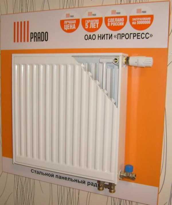 Это модель • Prado Universal с терморегулирующим вентилем