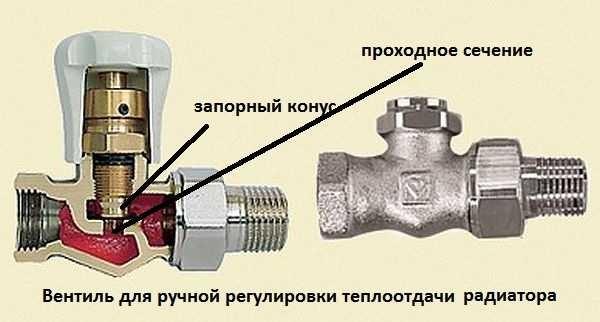 Регулирующий вентиль может только снизить температуру