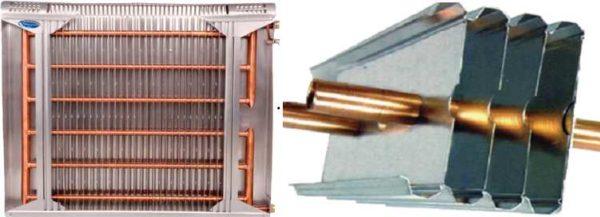 Биметаллические панельные радиаторы из меди и алюминия