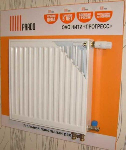 Панельные радиаторы российского производства - Prado (Прадо)