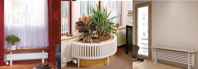 Стальные трубчатые радиаторы очень декоративны
