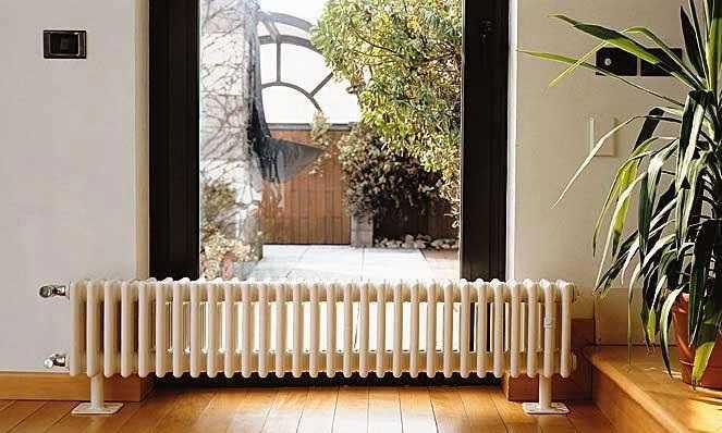 Трубчатые радиаторы очень декоративны
