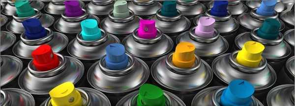 Красок в баллончиках очень много, но распылять их нужно на горячие батареи