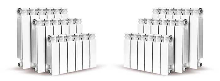 Алюминиевые и биметаллические радиаторы имеют самый нейтральный внешний вид