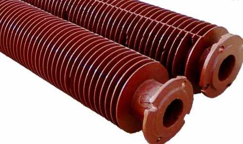 Чугунные регистры из оребренных труб