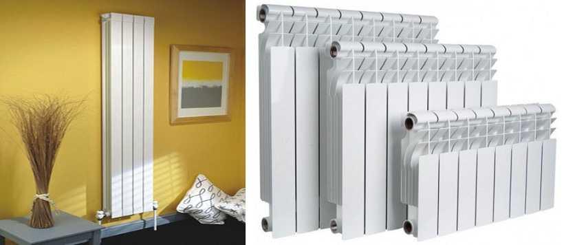Алюминиевые высокие радиаторы - это экструзионные модели