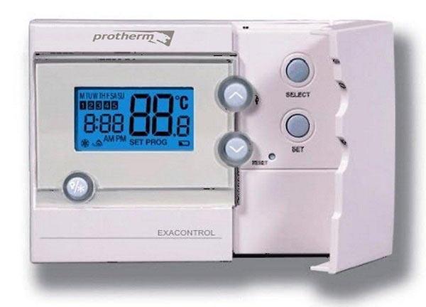 Комнатный регулятор температуры Exacontrol 7 для котлов Proterm