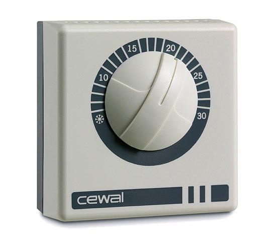 Комнатный механический термостат CEWAL RQ10