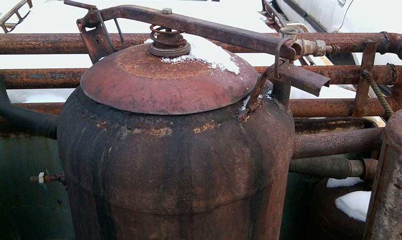Газогенератор самодельный