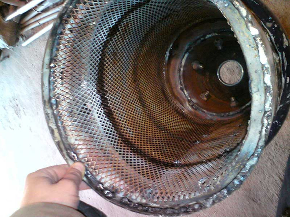 Колосниковая решетка автомобильного газогенератора