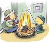 Каким может быть отопление частного дома без газа и электричества