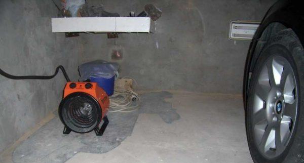 Тепловая пушка для гаража электрическая