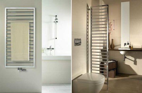 Комбинированные полотенцесушители в ванну - отличное решение